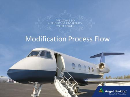 Modification Process Flow