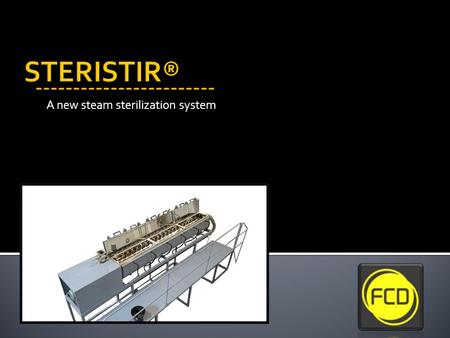 A new steam sterilization system