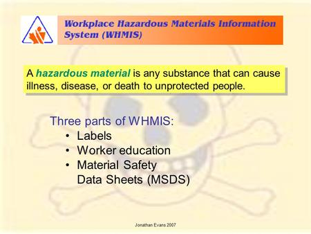 whmis workplace label template - safety in the classroom ppt download