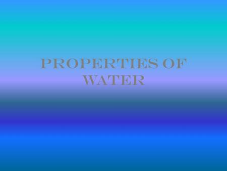 Properties of Water. Polarity What is electronegativity? What is nonpolar? What is polar? Draw and explain Figure 2.11 PAGE 29 (37-top 38)