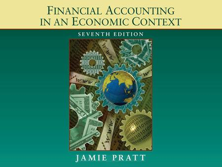 2 Chapter 4: The Mechanics of Financial Accounting.