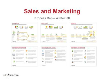 Sales and Marketing Process Map – Winter '08.