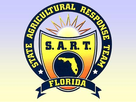 SART logo. 02State Agricultural Response Team Aquatic Animal Diseases.
