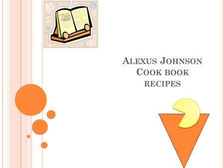 A LEXUS J OHNSON C OOK BOOK RECIPES. M EAT LOVERS PIZZA pkg of Jiffy Pizza Crust Mix Container of Boboli Pizza Sauce 1 Pkg of Canadian Bacon 1 lb of lean.