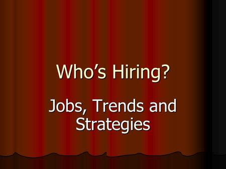 Who's Hiring? Jobs, Trends and Strategies. Find Out Who is Hiring Read the SF Business Times Read the SF Business Times Read the entire local newspaper.