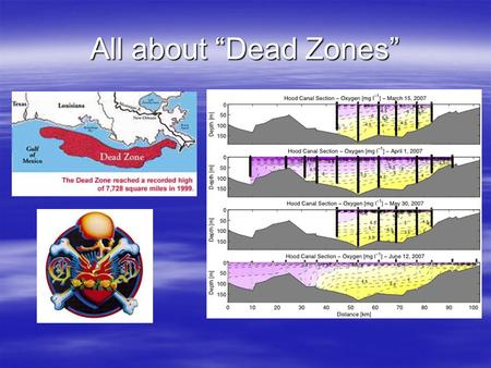 "All about ""Dead Zones"". Zones of Oxygen Depletion."