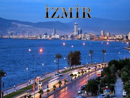The third-largest metropolis and an important port city of Izmir in Turkey.Izmir,yatch and boats are surrounded at the beginning of along and norrow bay.Along.