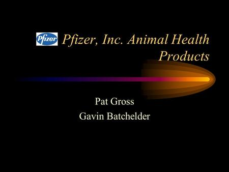 pfizer inc animal health products industry downturns and marketing strategy Pfizer was concerned about their original market segmentation: whether it would  still work for the company to continue to market its products on the basis of herd.