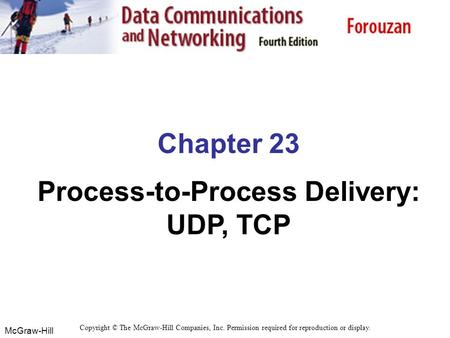 Process-to-Process Delivery: