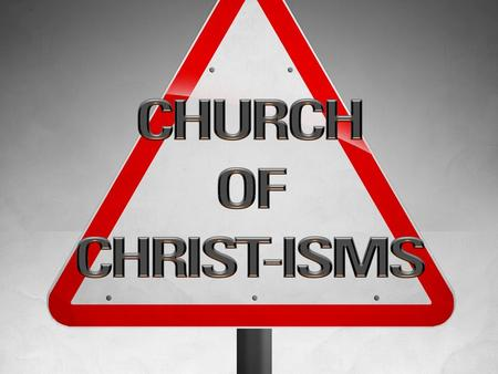 INTRODUCTION THE CHURCH NOT A CHURCH THE KINGDOM OF CHRIST - MATT 16:18-19 THE BRIDE OF CHRIST - EPH 5:22-23 THE BODY OF CHRIST - EPH 1:21-23 THE CALLED.