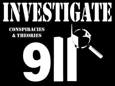 Conspiracies & Theories. Controlled Demolitions Theories say the collapses of the North Tower, South Tower, and WTC 7 were caused by explosives found.