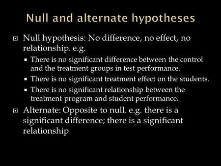 know the difference between hypothesis and theory relationship