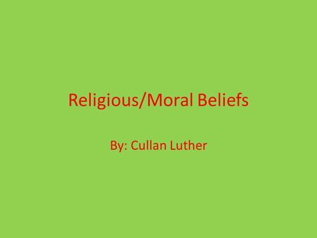 Religious/Moral Beliefs By: Cullan Luther. Jonas In the book it mentions many supporting details of the religious and moral beliefs in The Giver. Here.