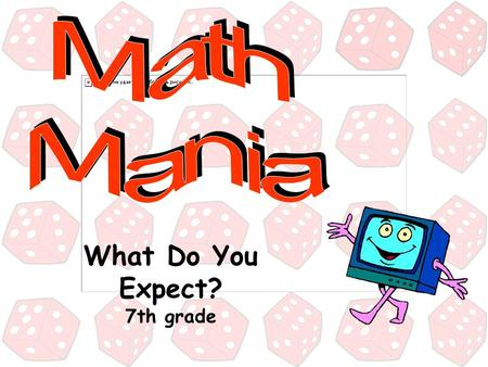 What Do You Expect? 7th grade 500 100 200 300 100 300 200 300 200 100 200 500 300 100 400 Expected Value Vocabulary Terms Two-Stage Games Probability.