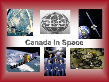 Canada in Space.