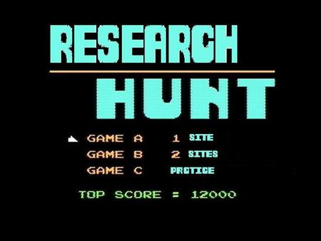 THE IDEA To incorporate the classic game of Duck Hunt, created by Nintendo, with researching company logos such as Wikipedia and EBSCO. As players shoot.
