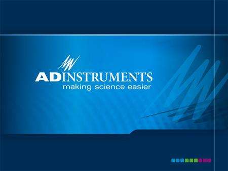 ADInstruments Advanced Features of LabChart Name: