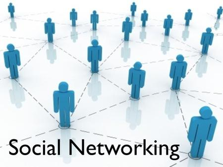 Social Networking. What is social networking? What networks are out there?