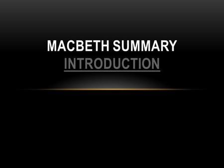 Macbeth film review essay