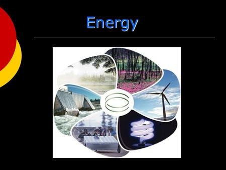 Energy. Nature of Energy  Energy is all around you!. You can see energy as light. And you can feel it as wind.