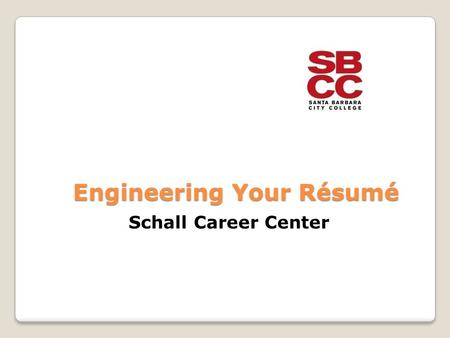 engineering your rsum schall career center what is a resume and what is it used