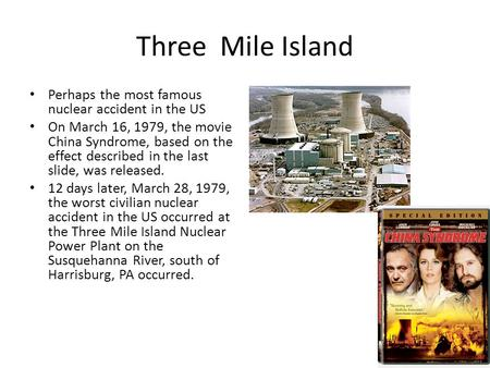 what happened at three mile island essay Three mile island summary and response three mile island was three mile island essay that the accident at three mile island would have never happened.