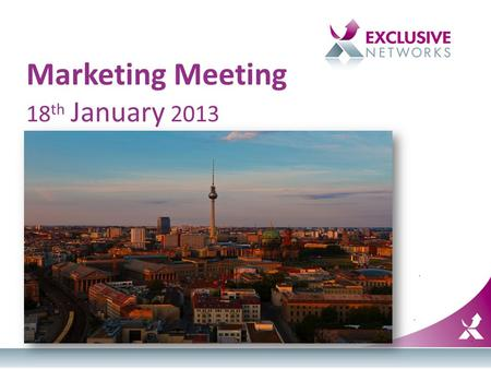 Marketing Meeting 18 th January 2013. Agenda TimeTopicPresenter 12.00 – 12.20DRIVE introductionElsa 12.20 – 1.00DRIVE trainingTanya 1.00 – 1.30Fast Lunch.
