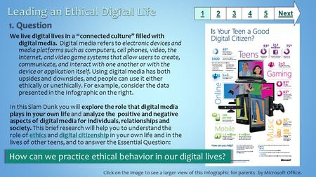 "We live digital lives in a ""connected culture"" filled with digital media. Digital media refers to electronic devices and media platforms such as computers,"