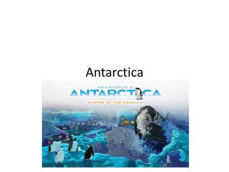 Antarctica. Information The Antarctic continent wasn't even actually seen until 1820. No man set foot in Antarctica until 1895. The first human landing.