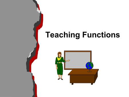 Teaching Functions. Effective Systematic Teaching l Begin a lesson with a short review of previous, prerequisite learning l Begin a lesson with a short.