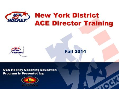 New York District ACE Director Training