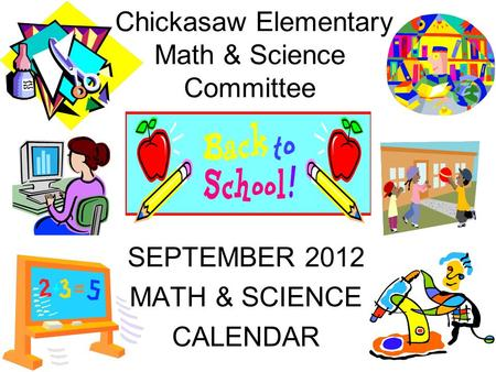 Chickasaw Elementary Math & Science Committee
