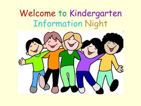 Welcome to Kindergarten Information Night. Great Falls Elementary - Jane Esty, Principal Village Elementary - Brian Porter, Principal Narragansett Elementary-