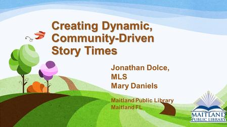 Creating Dynamic, Community-Driven Story Times