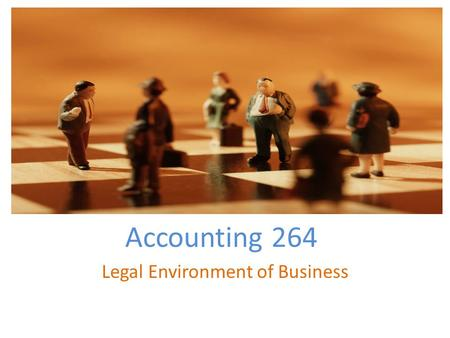 Accounting 264 Legal Environment of Business. Needs Assessment Problem- The North West Community College needs classes on ethics. What is offered at NWCC.