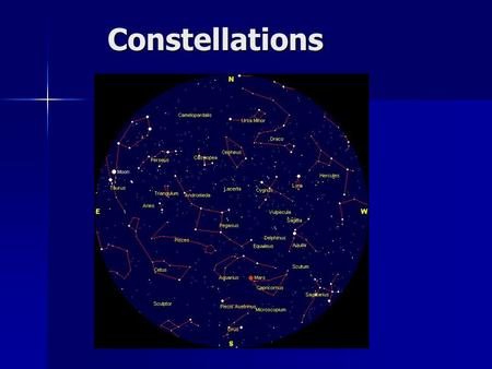 Constellations. The rotation of the earth causes the apparent daily motion of stars. The rotation of the earth causes the apparent daily motion of stars.