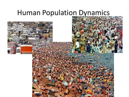 Human Population Dynamics. How do populations change Immigration – movement of people or species into a population Emmigration – movement of people or.