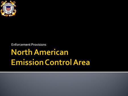 North American Emission Control Area