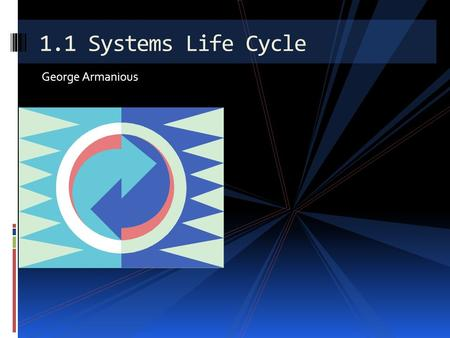 George Armanious 1.1 Systems Life Cycle The cycle involves design and implementation of systems. Includes: Software requirements Hardware requirements.