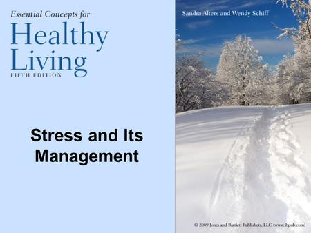 Stress and Its Management. Stress Definitions Stress—a complex series of reactions, both psychological and physical, in response to demanding or threatening.