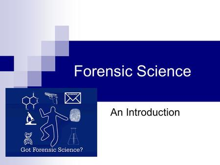 foresic science