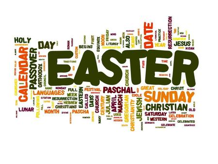 The Meaning of Easter. Christmas celebrates the birth of Jesus and Easter celebrates Jesus' death and Resurrection. Christmas and Easter are the two most.