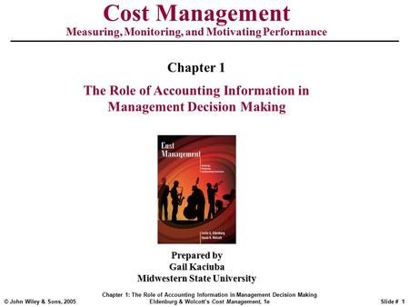 Essay about Decision Making in Managerial Accounting