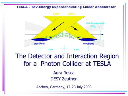 The Detector and Interaction Region for a Photon Collider at TESLA
