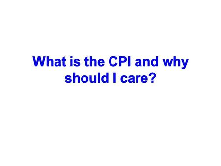 Purpose of the CPI -from the Bylaws The Council of Principal Investigators (CPI) is comprised of individuals elected to represent Principal Investigators.