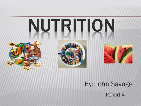 By: John Savage Period 4.  Types  Simple (simple sugars)  natural foods (dairy and fruits)  Complex (starches) exp.  grain products  Major energy.
