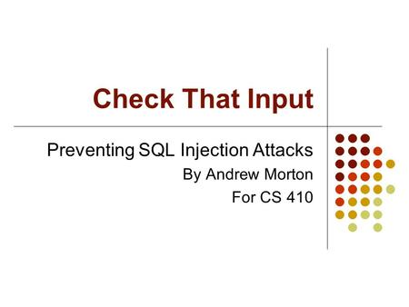 worst sql injection attacks