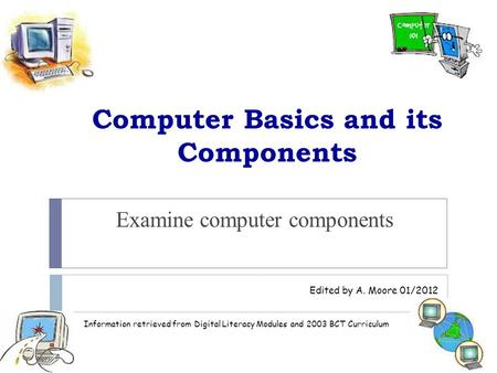 Computer Basics and its Components