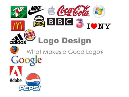 Logo Design What Makes a Good Logo?.