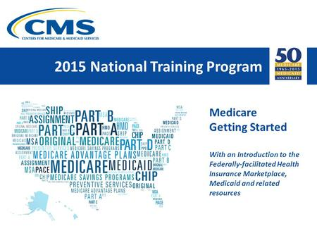 2015 National Training Program